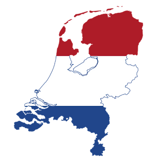 Netherlands Flag Map Transparent.png