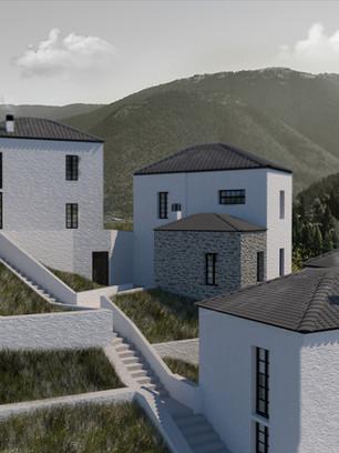 Τουριστικές κατοικίες στο Νόστιμο Ευρυτανίας
