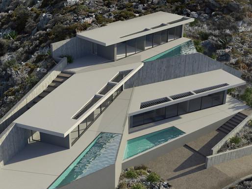 Morphό Architects: Τρεις νέες κατοικίες στην Κάλυμνο υψηλών σχεδιαστικών προδιαγραφών