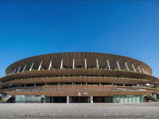 Το στάδιο του Kengo Kuma φιλοξενεί τους Ολυμπιακούς Αγώνες του 2021