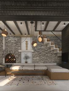 Tourist residences in Symi