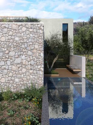Συγκρότημα Τουριστικών Κατοικιών με ιδιωτική πισίνα