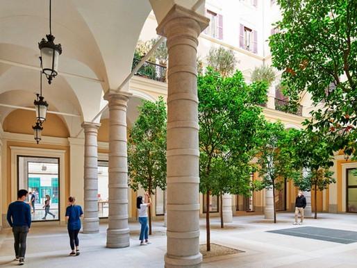 H Apple ξαναδίνει ζωή στο Grand Palazzo Marignoli.