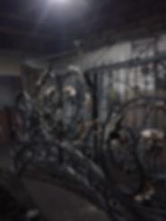 навершия ворот / арки кованые