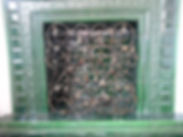 каминная кованая решетка