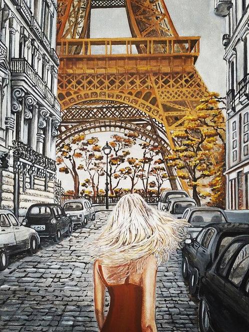Снова в Париже