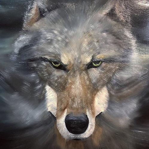 И волки среди ночи завыли под окном