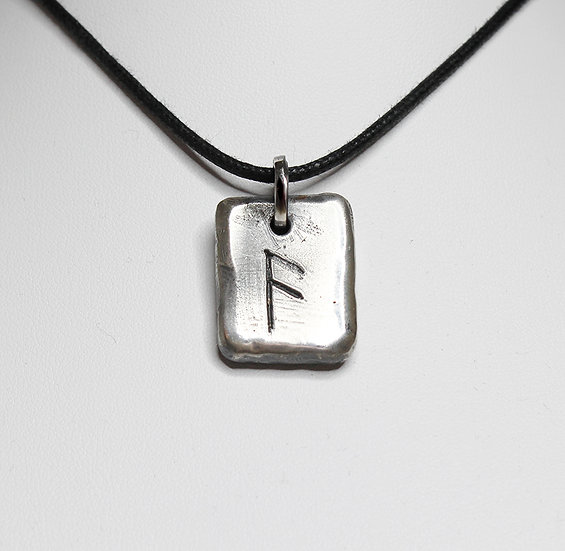 Ansuz – A God Rune Pendant