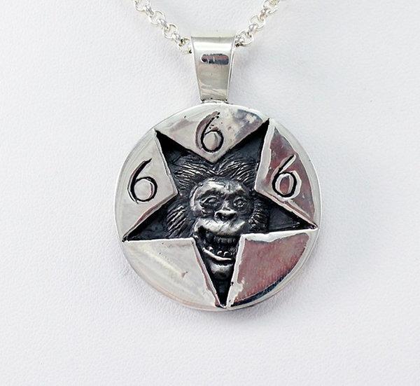 Iron Monkey pendant