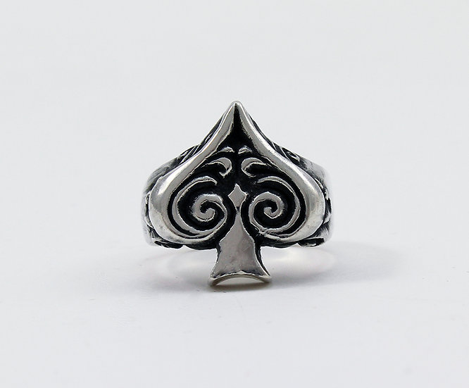 Ace Of Scrolls Ring