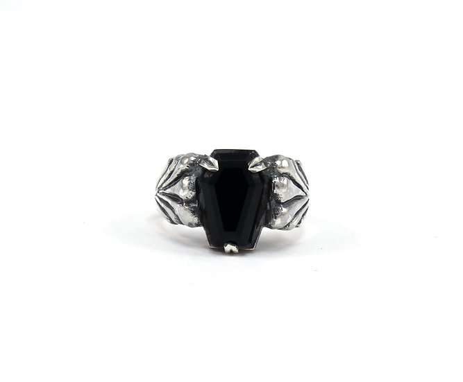 The Casket Collection Ladies' onyx Ring