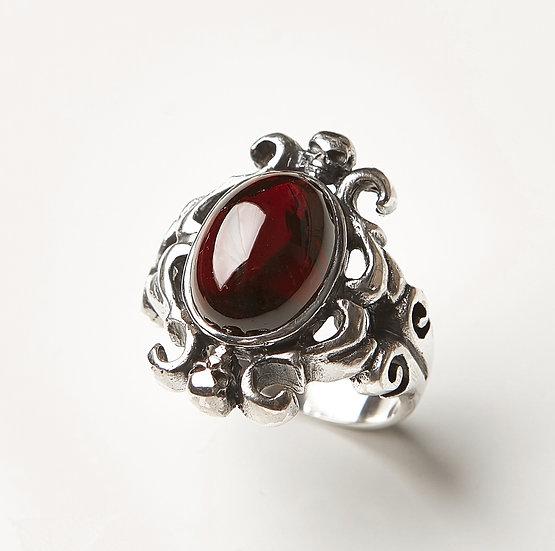 The Gala Garnet Ring