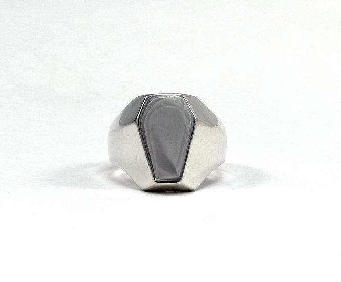 The Casket Collection men's signet Ring
