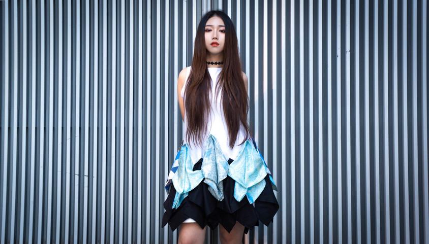 Design: Nadine Shu Photograph: Nadine Shu Model: Zoe Cui