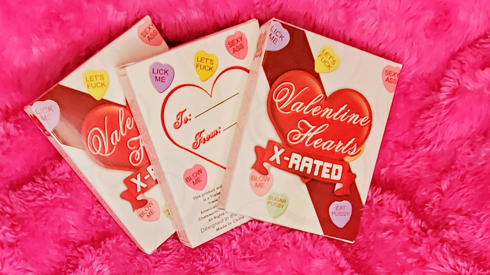 X-Rated Valentine's Heart Candy