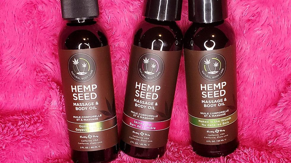 Mini Hempseed Massage Oil