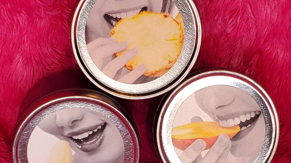 3-in-1 Mini Edible (Kissable) Massage Candles. 2 oz