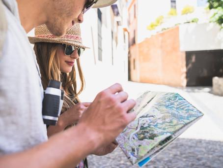 Materiais gráficos para as empresas de turismo