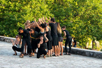Six Seeds by Bryony Lavery performed in Northern Greece  with the 2014 One Year Lease Summer Apprenticeship Company