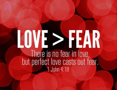 Holy Thursday: On Fear & Love, Together