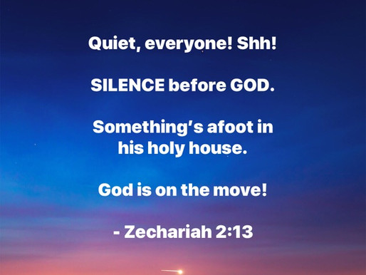 Holy Saturday: Sabbath Silence