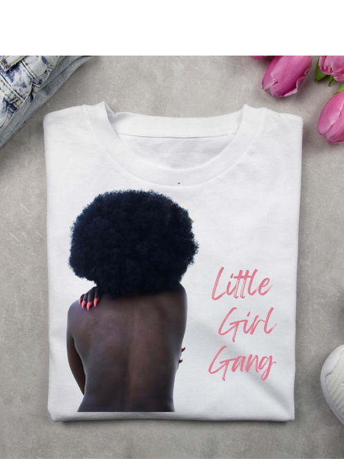 White #LGG Women's Tee