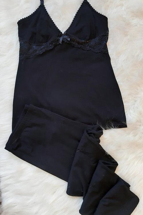 Pijama Largo Love ♥ Negro I