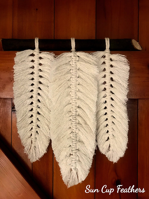 Suncup Feathers Wall Hanging
