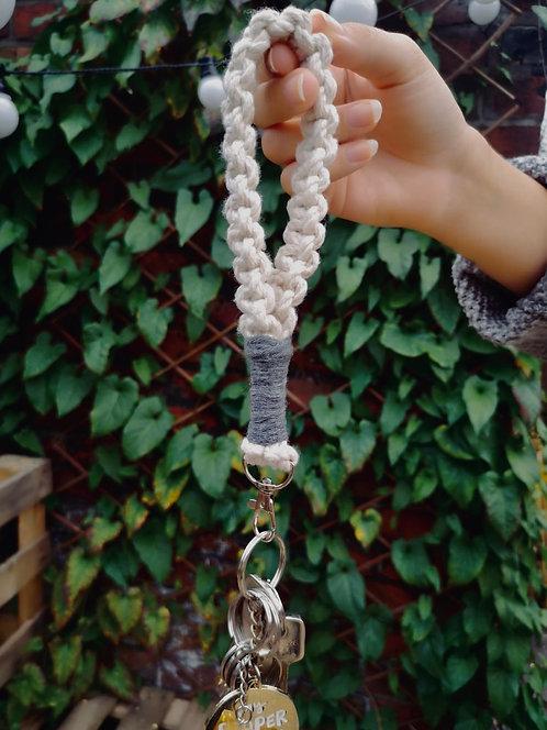 Macrame Wristlet Keychains