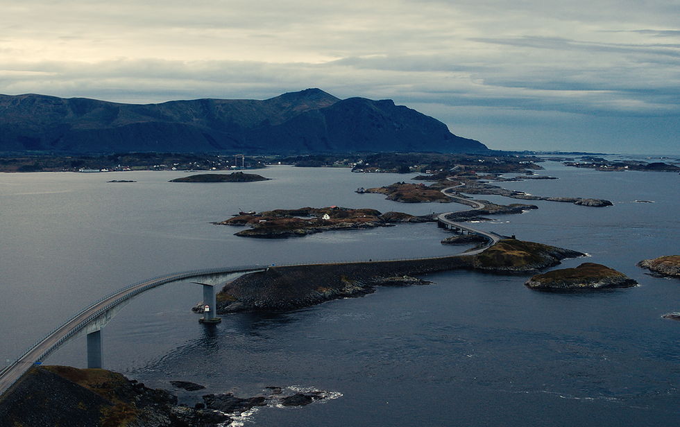 The Atlantic Osean Road