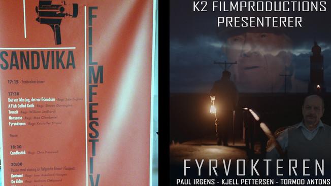 Fyrvokteren på Filmfestival!