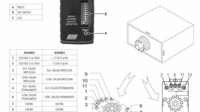 Detector magnético o de masa