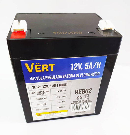 Batería 12v 5amp