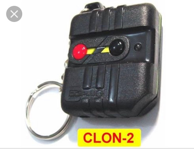 Control Remoto Clonex Codiplug
