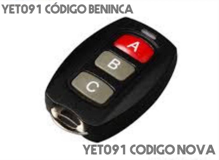 Control Remoto 091 Beninca y  Nova