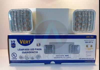Lampara led emergencia Vert