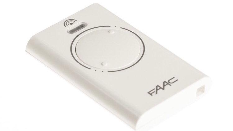 Control Remoto FAAC 433 y 868 mhz