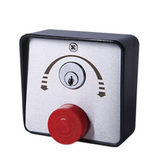 Selector llave pulsador seguridad 16182B