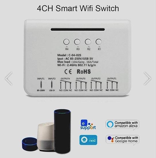 Receptor Wifi eWelink 4 canales