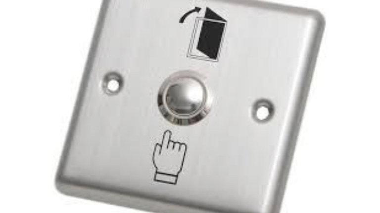 Botón pulsador Acero Inoxidable