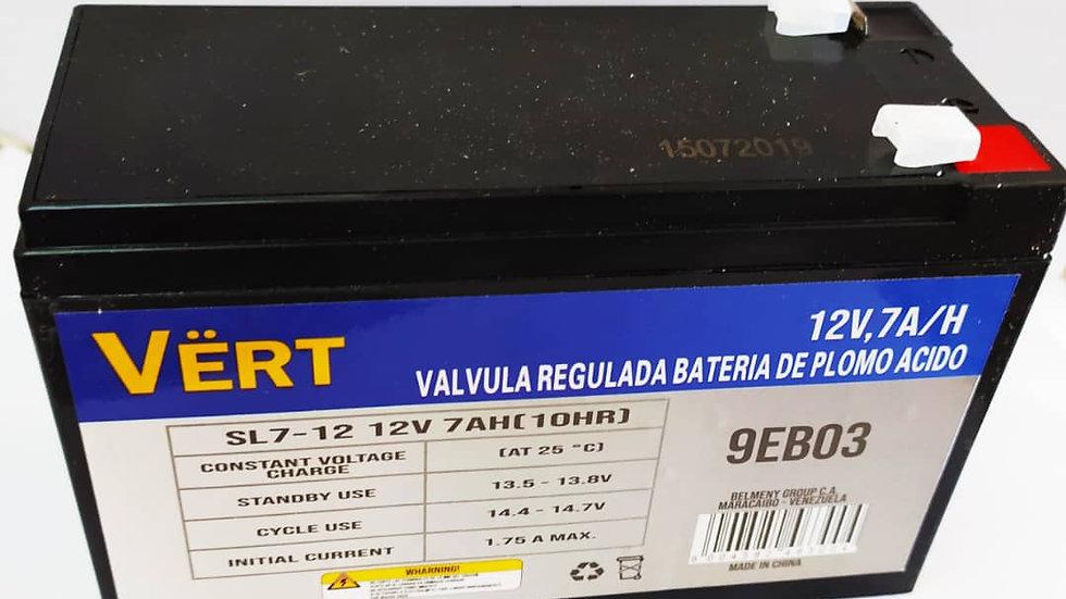 Batería 12v 7amp