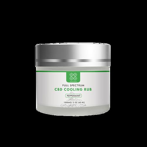 CBD Cooling rub 1000mg(1oz)