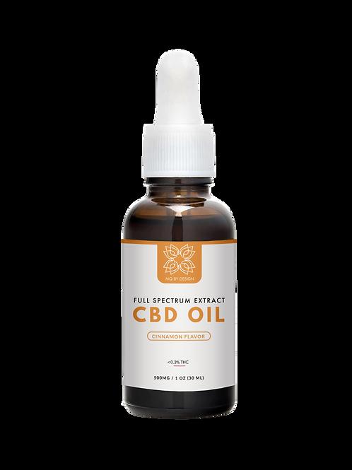 Full Spectrum CBD Oil 500mg (1oz)