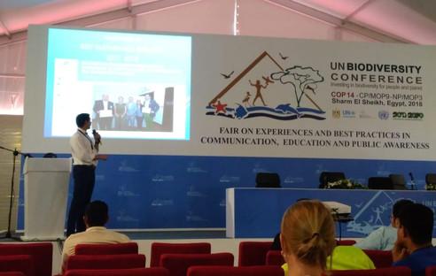 Presentación en Feria CEPA