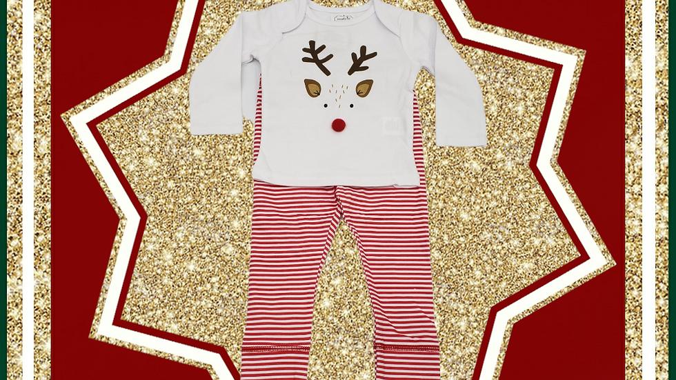 Christmas Reindeer Pant Set