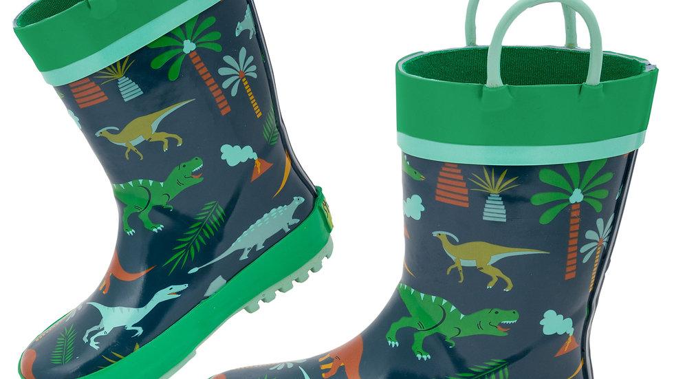 Dino Rain Boots