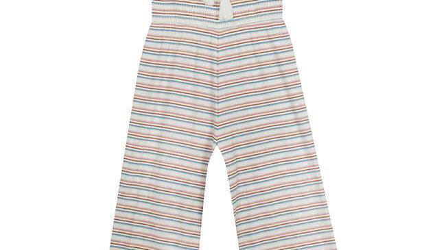 Girls striped jumpsuit