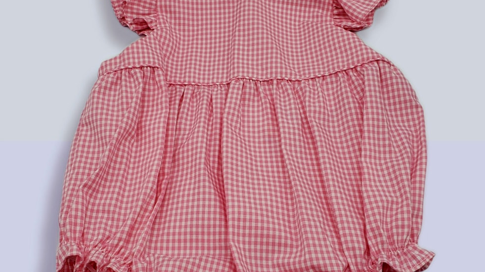 Pink Gingham Bubble