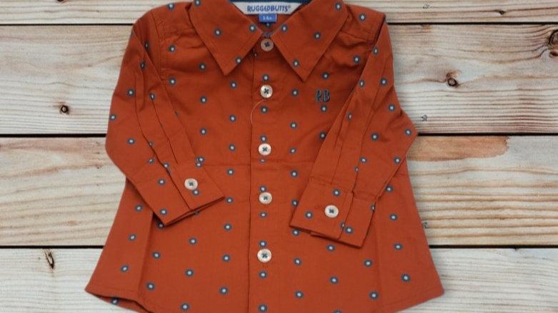 Spiced Clover Button Down Shirt