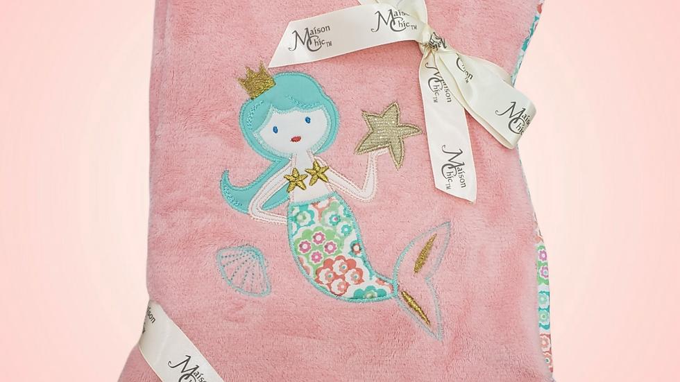 Mermaid Plush Blanket